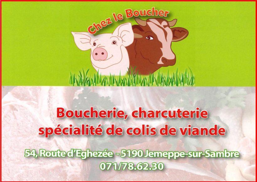 """Sponsor """"Chez le Boucher"""""""