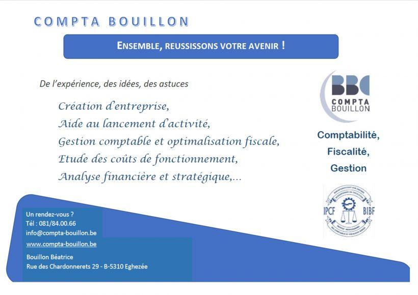 """Sponsor """"Compta Bouillon"""""""