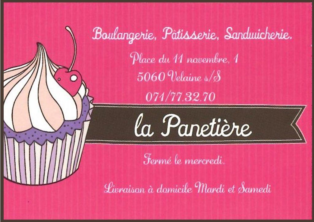 """Sponsor """"la Panetière"""""""